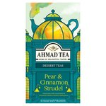 Ahmad Tea Pear & Cinnamon Strudel Tea Bags