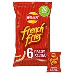 Walkers French Fries Ready Salted Snacks 18g x