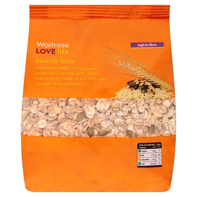 Waitrose Love Life Muesli Base | Ocado