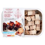 Waitrose 18 Pork Belly Squares with Sticky Glaze
