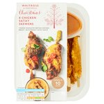 Waitrose 8 Chicken Satay Skewers