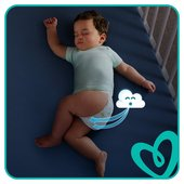 Pampers Baby Dry Nappies Size 4 Giga Pack