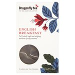 Dragonfly English Breakfast Tea Pyramid Bags