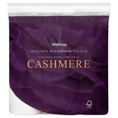 Waitrose Cashmere Quilted Bathroom Tissue
