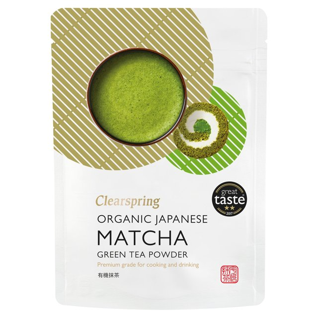 Clearspring Organic Premium Matcha Green Tea Powder