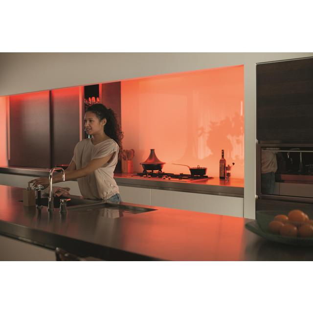 philips hue lightstrip plus 2m 20 5w from ocado. Black Bedroom Furniture Sets. Home Design Ideas