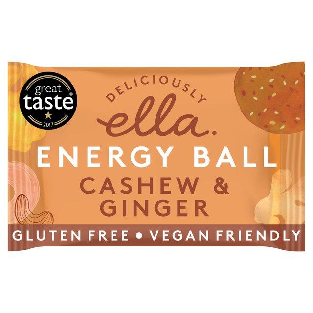 Deliciously Ella Cashew Amp Ginger Energy Ball 40g From Ocado