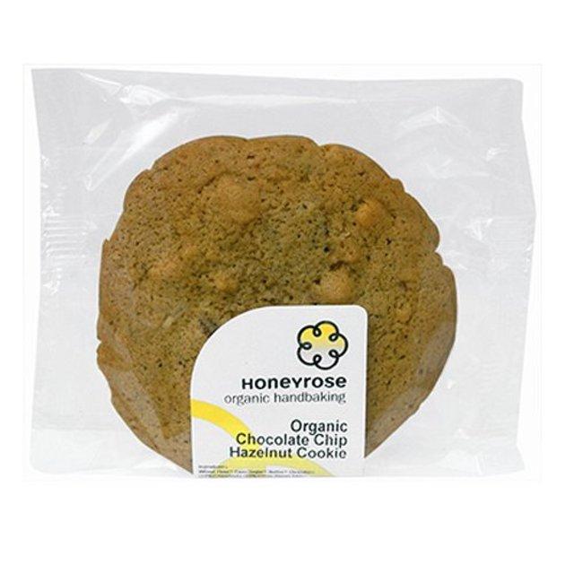 Honeyrose Organic Chocolate & Hazelnut Cookie 50g from Ocado