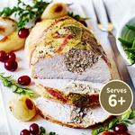 Waitrose Turkey breast Joint with a Pork, Sage & Onion Stuffing