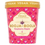 Booja Booja Organic Raspberry Ripple Ice Cream