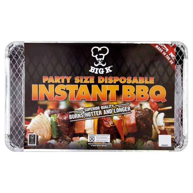 Big K Party Size Disposable Instant BBQ