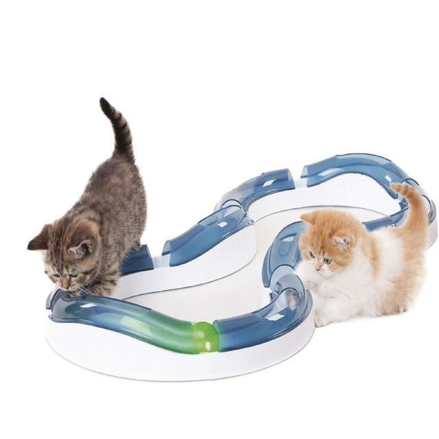 36f69d47a578b5 Catit Senses Super Roller Circuit Cat Toy from Ocado