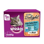Whiskas 1+ Casserole Cat Pouches Fish in Jelly