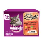 Whiskas 1+ Casserole Cat Pouches Meaty in Jelly