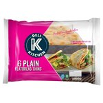 Deli Kitchen Plain Folded Flatbread Thins