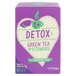 t + Detox Vitamin Green Tea, Apple & Blackcurrant Bags