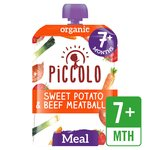Piccolo Organic Sweet Potato & Beef Ragu