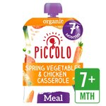 Piccolo Organic Spring Vegetables & Chicken with Tarragon