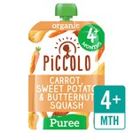 Piccolo Organic Carrot, Squash & Sweet Potato with hint of Parsley