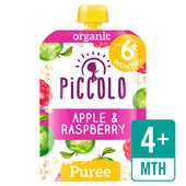 Piccolo Organic Raspberry & Apple with Soaked Oats