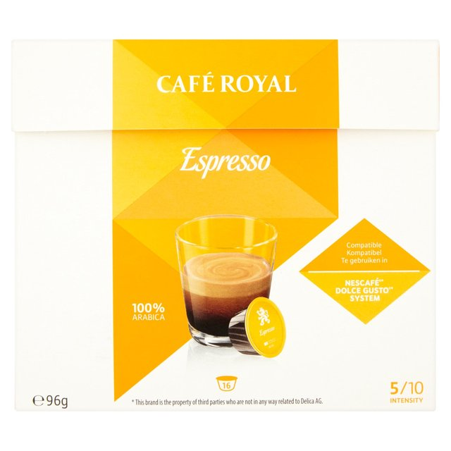 Cafe Royal Capsule Nescafe Dolce Gusto System
