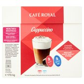 Cafe Royal Cappuccino Dolce Gusto Compatible Coffee Pods