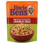 Uncle Bens 3 Grains Bean & Chilli Microwave Rice