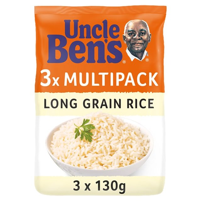 Uncle Bens Long Grain Rice Microwave