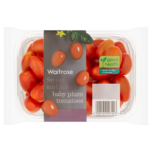 Calories in one baby plum tomatoes