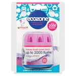Ecozone Forever Flush Indigo up to 2000 Flushes Toilet Block