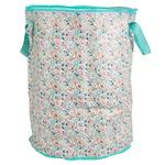 Tropical Meadow Flower Laundry Bag