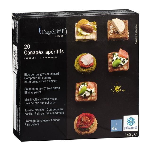 picard 20 aperitif canapes frozen - Canapes Aperitif Originaux