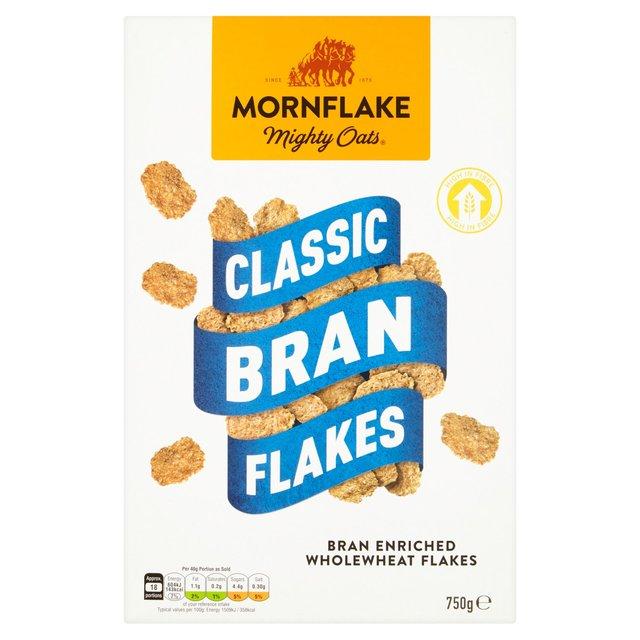 mornflake bran flakes 750g from ocado