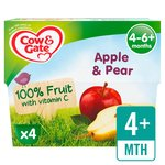 Cow & Gate Apple & Pear Fruit Pots