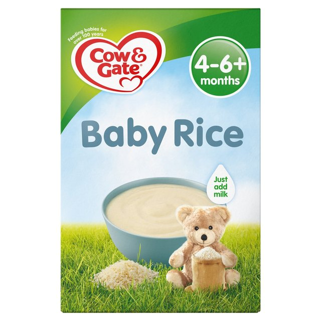 Cow Amp Gate Pure Baby Rice 100g From Ocado