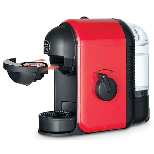 lavazza a modo mio minu coffee maker red from ocado. Black Bedroom Furniture Sets. Home Design Ideas