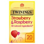 Twinings Strawberry & Raspberry Tea Bags