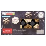 Waitrose 8 Christmas Tiffin Snowflakes