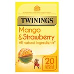 Twinings Mango & Strawberry Tea Bags