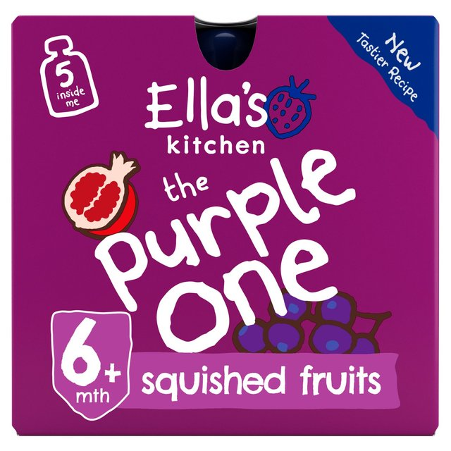 Ella's Kitchen Organic Smoothie Fruits The Purple One