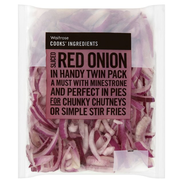 Cooks' Ingredients Sliced Red Onion Handy Pack Waitrose