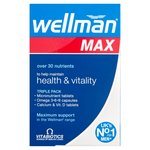 Vitabiotics Wellman Max Tablets