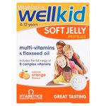 Vitabiotics Wellkid Soft Orange Jelly Pastilles