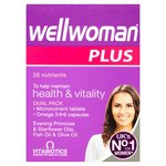 Vitabiotics Wellwoman Plus Tablets