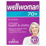 Vitabiotics Wellwoman 70+ Tablets