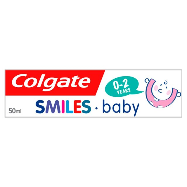 Colgate Smiles Baby 0-2 years Toothpaste