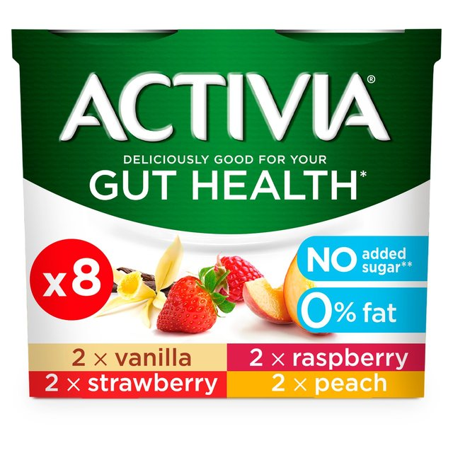 Activia 0% Fat Yogurts