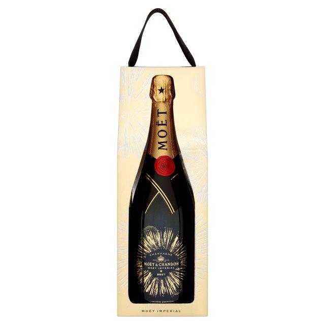 Moet & Chandon Champagne Bursting Bubbles Festive Gift ...