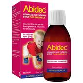 Abidec Advanced Raspberry Multivitamin Syrup