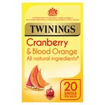 Twinings Cranberry & Blood Orange Infusions Tea Bags